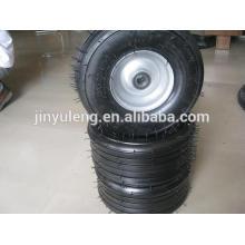 15x6.00 / 6.50--6 rueda de la carretilla de rueda para la carretilla de rueda, carro de mano, motor de la hierba