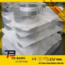 Round & Flat aluminium platte used for food dishware