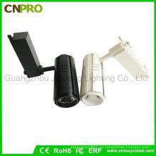 Blanco negro que contiene 30W COB Spotlight Luz de techo LED Track Light