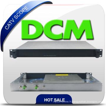 Câble fibre optique CATV Dcm Module Compensateur Dispersion 40 ~ 200 km