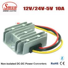 Impermeabilice el convertidor de IP68 12V / 24VDC a 5VDC DC-DC para el coche