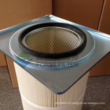 FORST Zhangjiagang Square Flange Filter Cartridge With Polyester