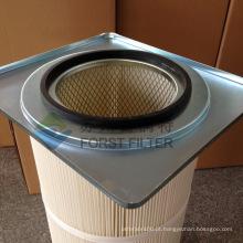 FORST Cartucho de filtro de flange quadrado de alta qualidade com PTFE