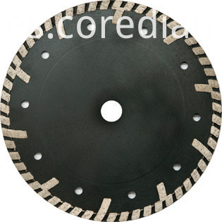 Sinter hot-pressed continuous turbo waved blade
