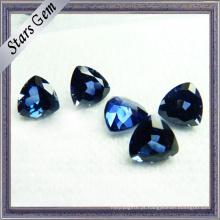 Synthetic Corindum # 34 Blue Lab Sapphire para configuração de jóias