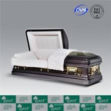 LUXES Hot-selling 18ga Metall Sarg Coffin