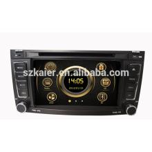 Heißer Verkauf PIP HD wince 6.0 Autoradio für VW Touareg mit GPS / Bluetooth / Radio / SWC / virtueller 6CD / 3G / ATV / iPod