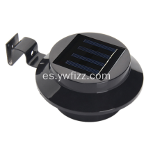Lámpara de pared solar LED impermeable jardín valla lámpara