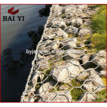 Boîte galvanisée lourde de fil de Gabion pour la protection de banque de fleuve