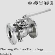 ANSI 2PC Split Body Manual Flange Ball Valve Class 150/300