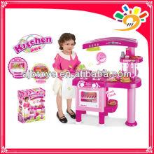 Preschool Dining Pretend Play Set, Kitchen Set For Children