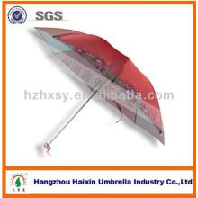 21 '' * 8k parasol pliant couleur changeant tissu parapluie / parapluie uv / parapluie de protection solaire
