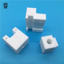 Piezas de cerámica de cristal mica macor de alta tolerancia.