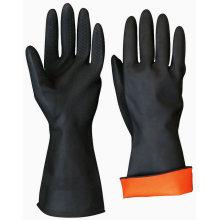 Химическая промышленная резиновая рабочая перчатка