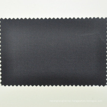 Italian wool lycra cloth black tuxedo twill cloth by the meter for made to measure