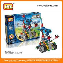 Игрушки-головоломки электрические роботы LOZ