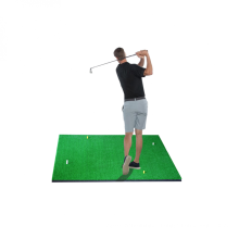 Amazon Rubber Portable Grass Golf Mat Practice