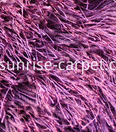 Detail of Thin Soft And Silk Long Pile Shaggy1
