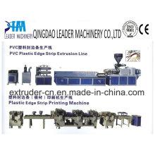 Linha de produção da faixa de borda do Furniture do PVC / da borda de borda