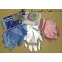 Einweg-OEM Farbe HDPE Handschuhe Kunststoff Handschuh