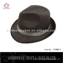 Mini chapéu de Fedora Khaki