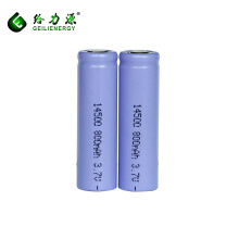 Großhandel 14500 Li-Ionen-Akku Lithium-Ionen 3,7 V 800mAh Batterie