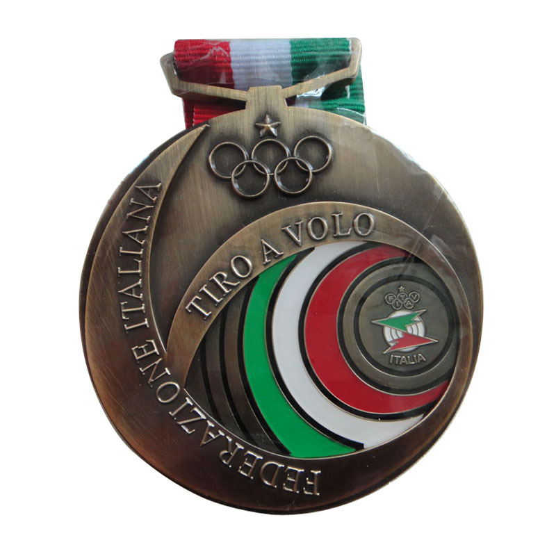 Custom Medal With Ribbons 1