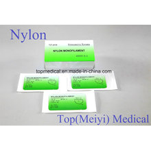 Sutura quirúrgica - Nylon Monofilamento Sutura no absorbible