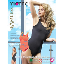 MIORRE SEAMLESS BODYSUIT WITH SNAP & THICK STRAP