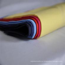 T / C 90/10 110X76 Tela de popelina de bolsillo lisa, blanca y teñida