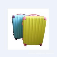 Conjuntos de bagagem de carrinho colorido para o verão