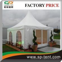 2015 ganze Verkauf billig Aluminium Rahmen 6m x 6m Hochzeit 5x5m Pagode Zelt