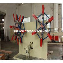 Enrouleur de tuyau à double disque de tuyau de PE de tuyau souple en plastique