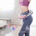 wholesale counter digital sport waist massage fitness weighted smart hula ring hoop