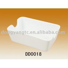 Plato de concha de cerámica al por mayor directo de fábrica