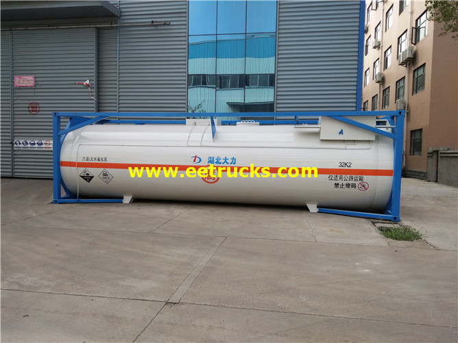 Hcl Tanker Storage Container