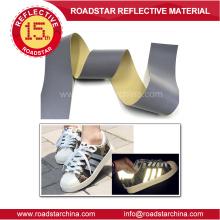 graue reflektierende PVC-Schaum-Leder