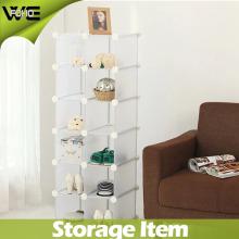 Shoe Display DIY Fashion Plastic Storage Rack Cabinet