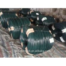 Arame revestido de PVC / fio de revestimento de PVC fabricado na China