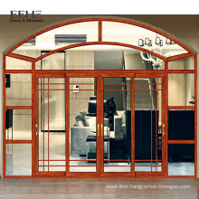Harga arch sliding door kayu with mosquito netting