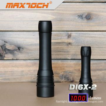 Maxtoch-DI6X-2 Lampe führte 2012