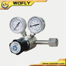 Regulador do co2 da alta pressão do gás do ar do aço inoxidável