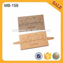 MB159 Металл Моды Металл для Женщин Сумка Изготовление Принадлежности Украшение Металл Тег С Пользовательским логотипом