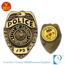 Polícia de Mississippi Badge com cobre antigo para lembrança