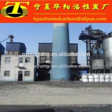 Manufatura de Ningxia de carvão ativado de conchas de porca