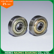 Plastic Colated Sliding Window Ball Bearing 626ZZ