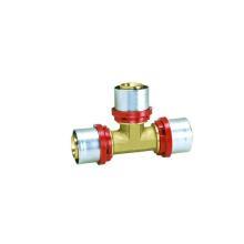 Тройник (Т Тип пресс-фитинги) для лазерных или перекрытие трубы PEX-Аль-PEX труб (алюминий пластиковые трубы)