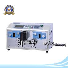 High Efficiency Automatic Wire Stripping Máquina / fio de cabo que faz o equipamento