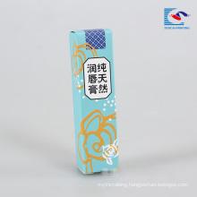 creative natural lip gloss packaging box for children