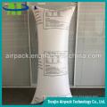 Branco inflável tecido à prova de choque inflado tecido do saco de ar de PP Dunnage